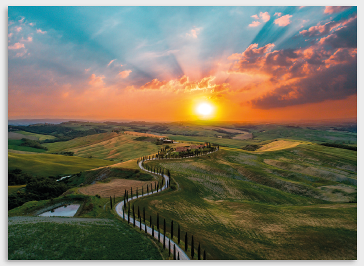 Tela Tuscany view