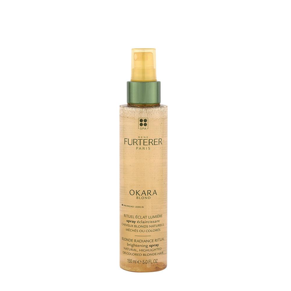 Rene Furterer Okara Blond spray schiarente Capelli biondi naturali, con meches o colorati.