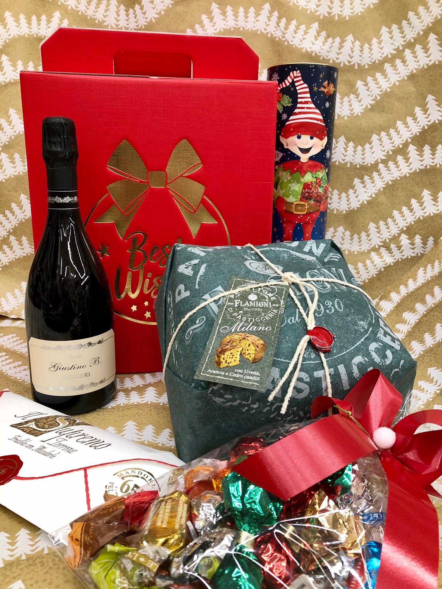 Confezione Natale : bauletto delle Feste