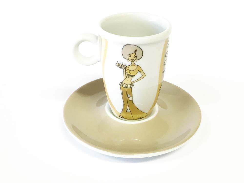 Obere cappuccino Sunshine Girl (6stck)