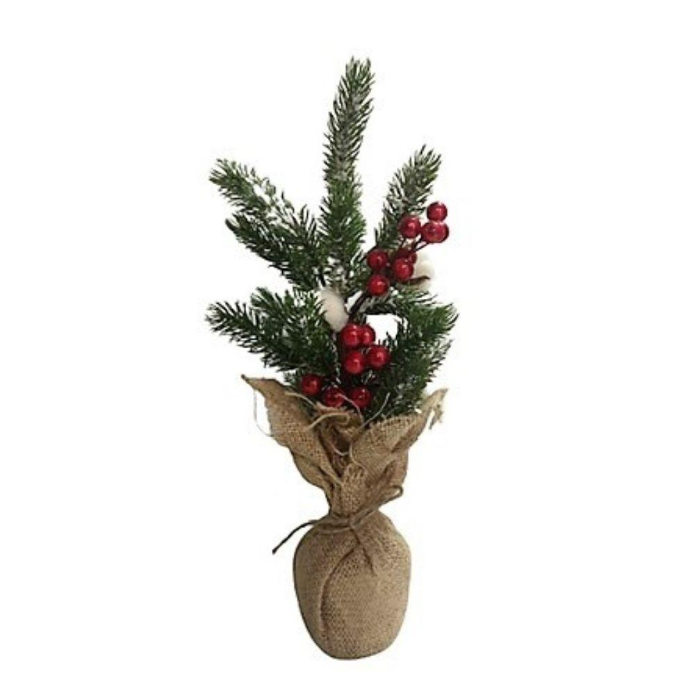 Albero di Natale addobbato con decorazioni