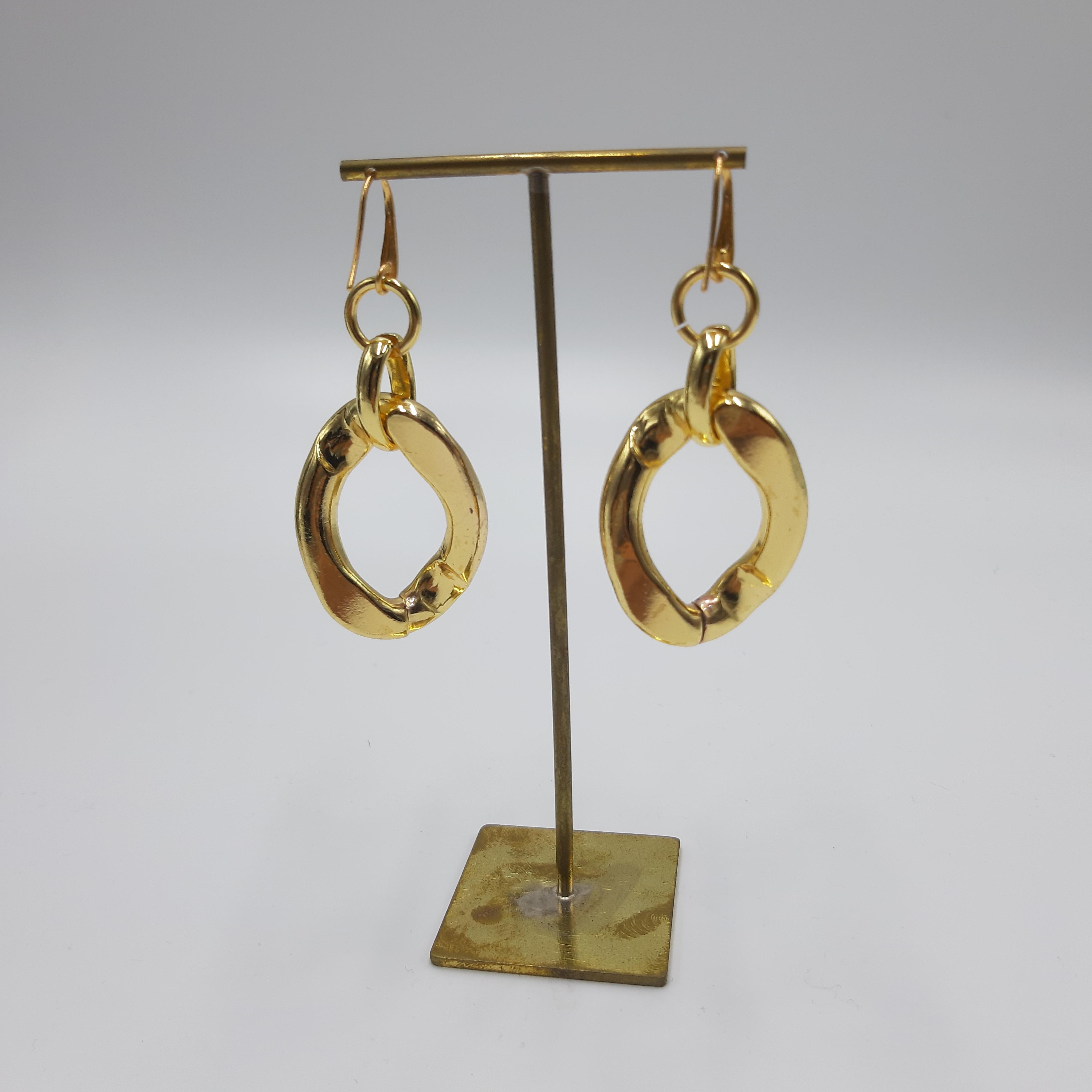 Orecchini hoop oro Francesca Bianchi Design