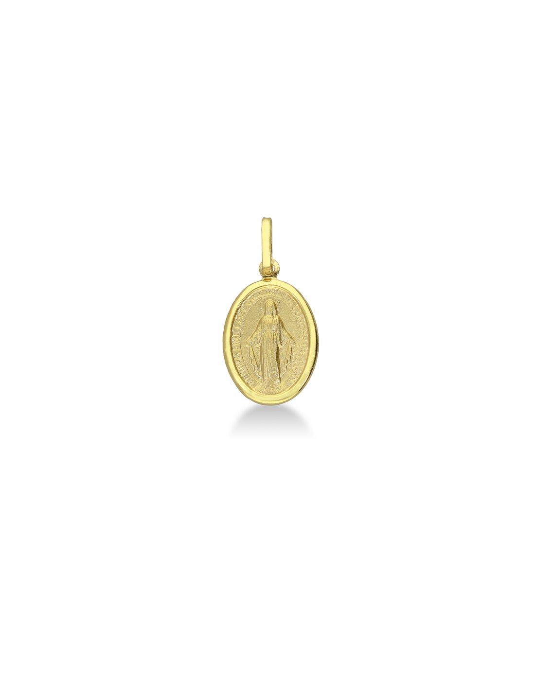 Ciondolo Oro Madonna