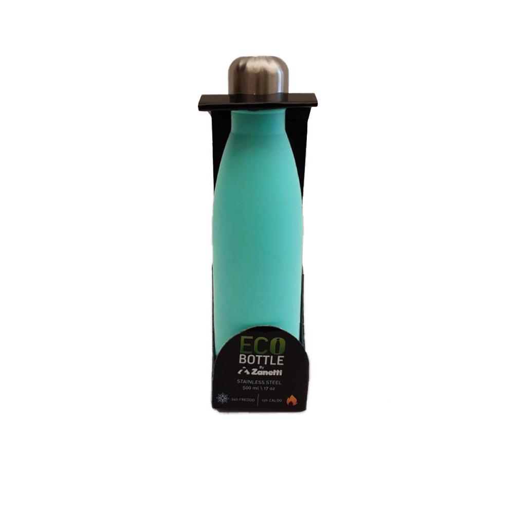 Borraccia Termica in Acciaio Inox Verde 500ml