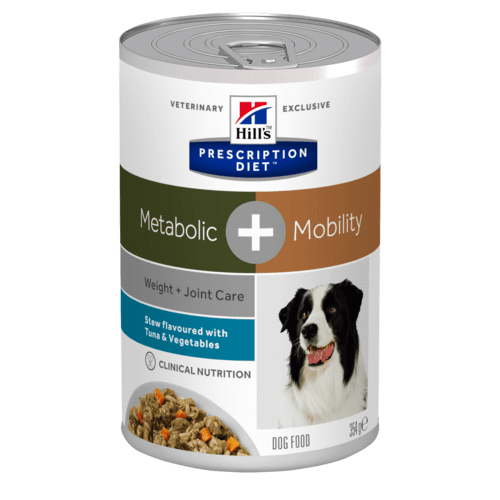 Hill's - Prescription Diet Canine - Metabolic+Mobility Stew - 354g x 24 lattine