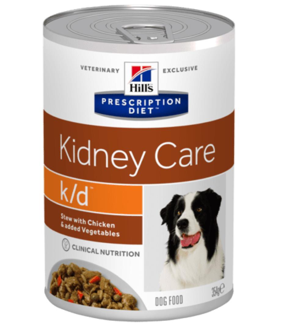 Hill's - Prescription Diet Canine - k/d Stew - 354g x 24 lattine