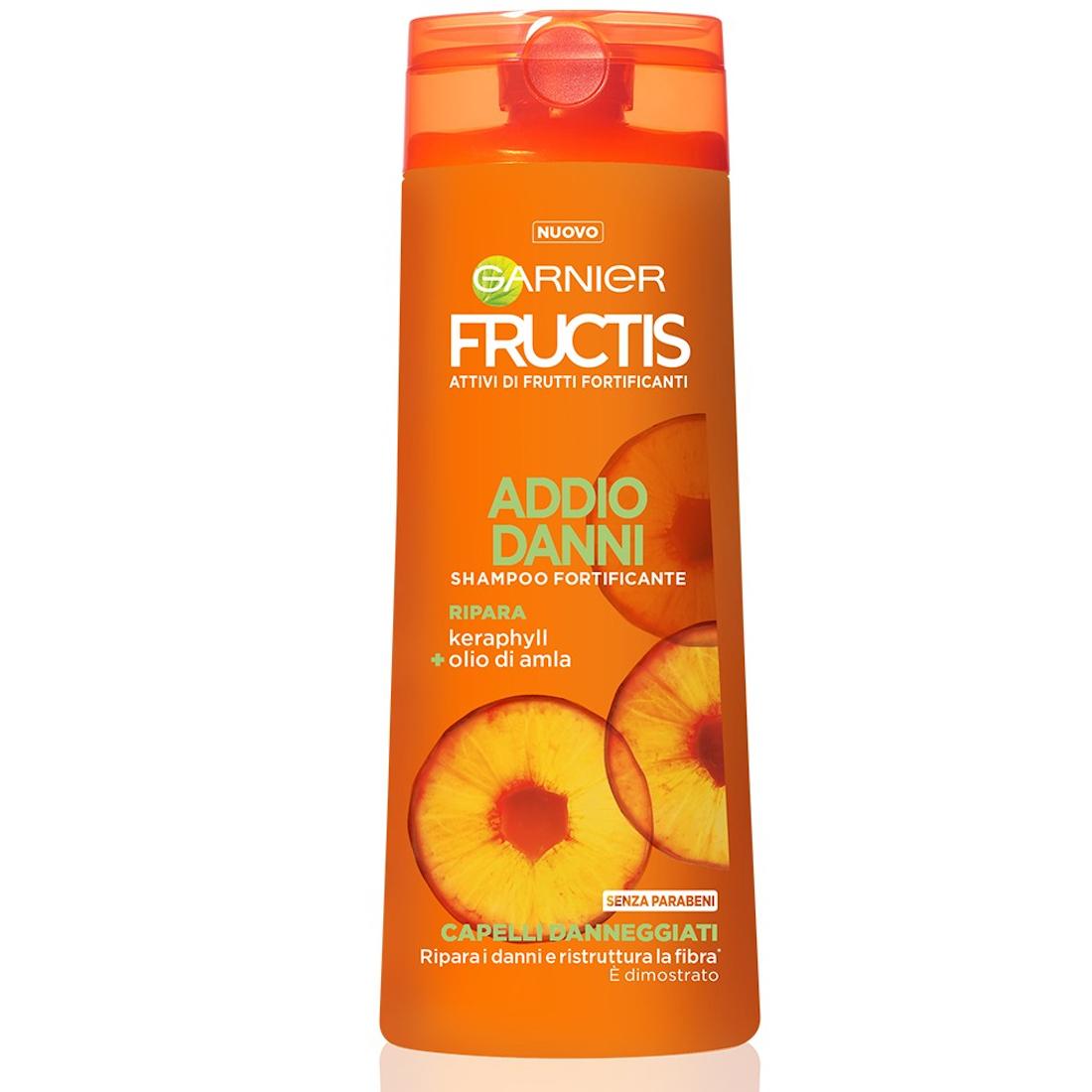 FRUCTIS Shampoo Fortificante Addio Danni 250ml
