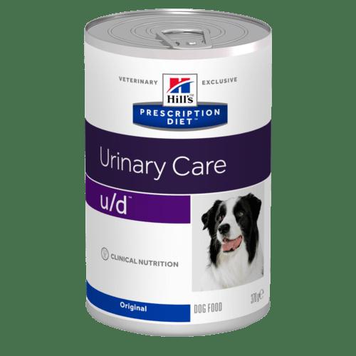 Hill's - Prescription Diet Canine - u/d - 370g x 24 lattine