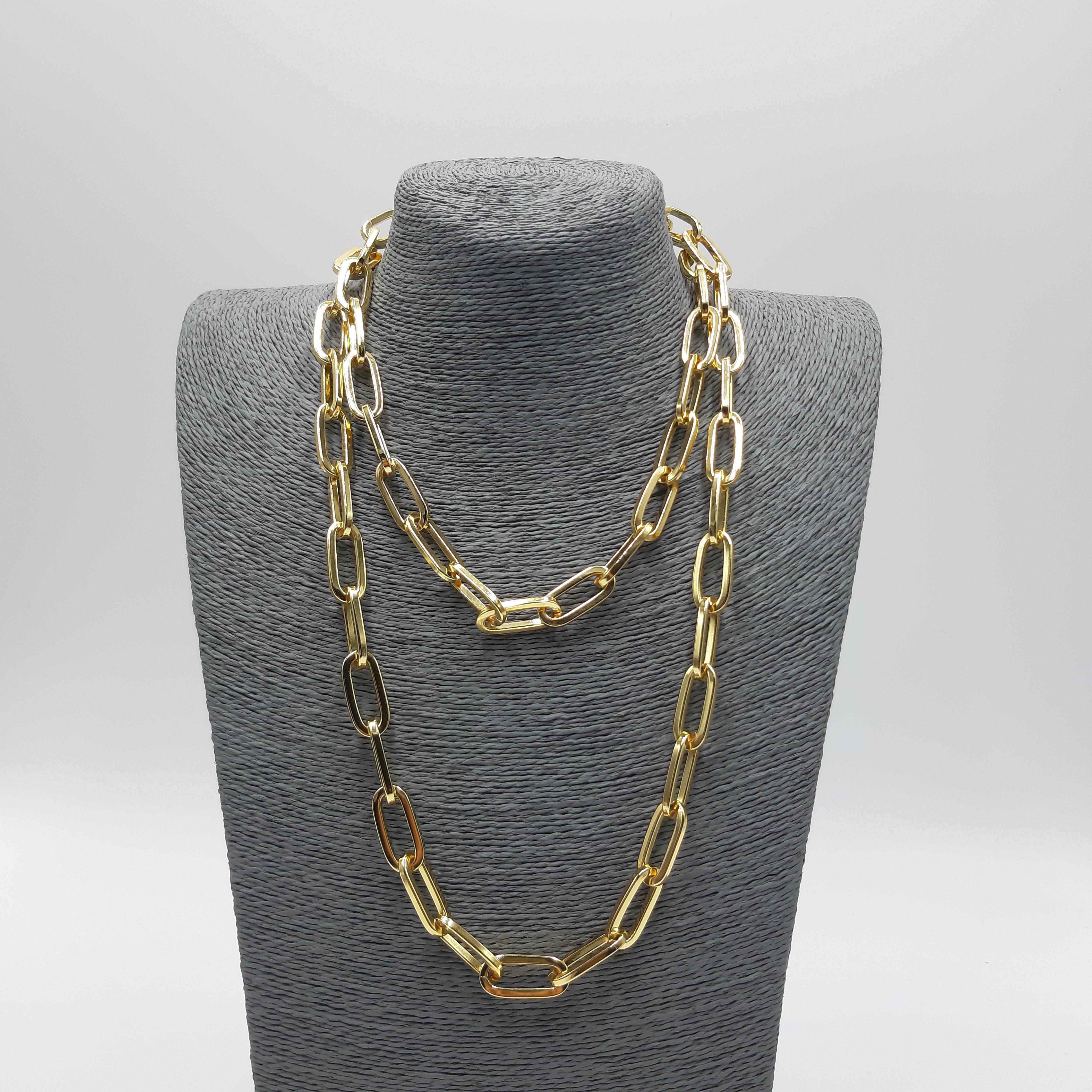 Catena lunga oro Francesca Bianchi Design