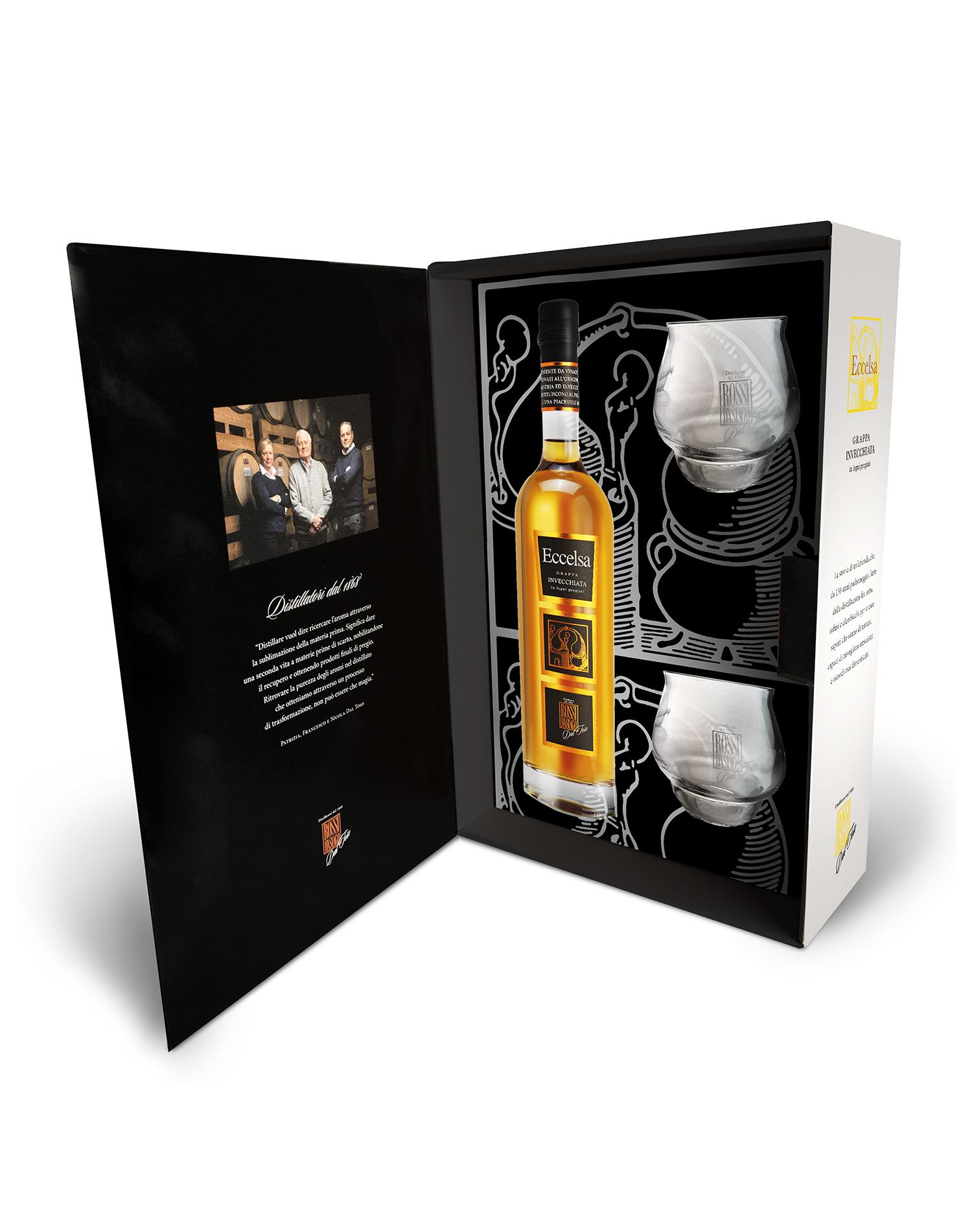 Eccelsa Tasting - Kit 2 bicchieri degustazione