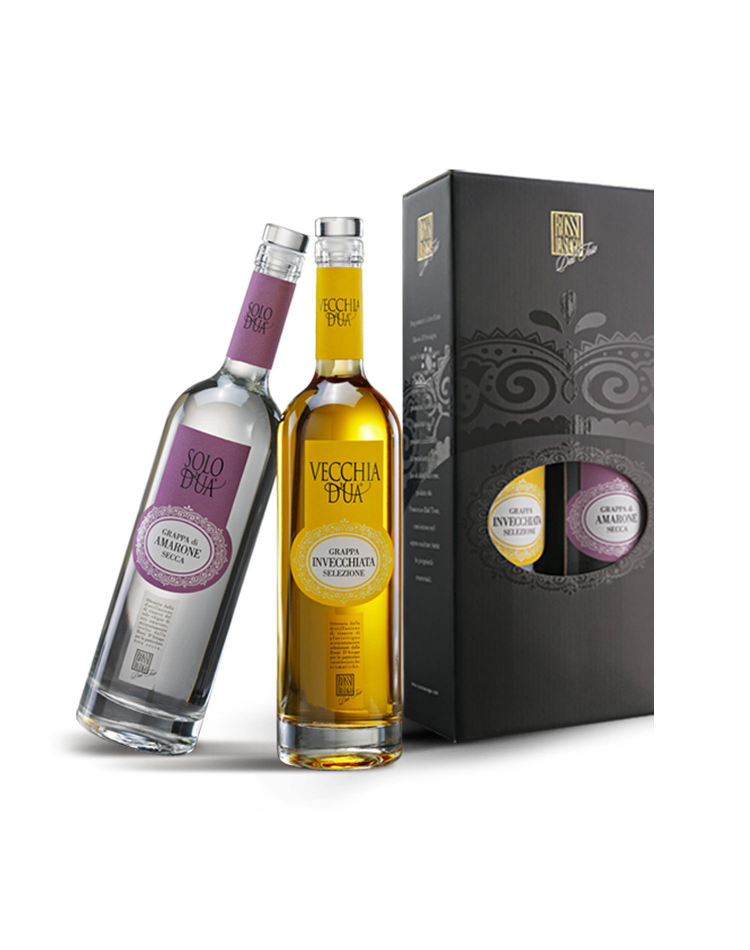 Duetto Grappa D'UA