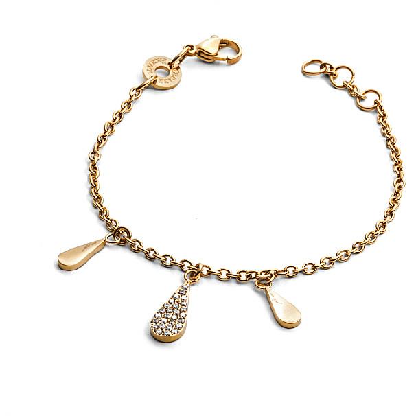 Bracciale donna For Us Cesare Paciotti Jewels. Gold Water.