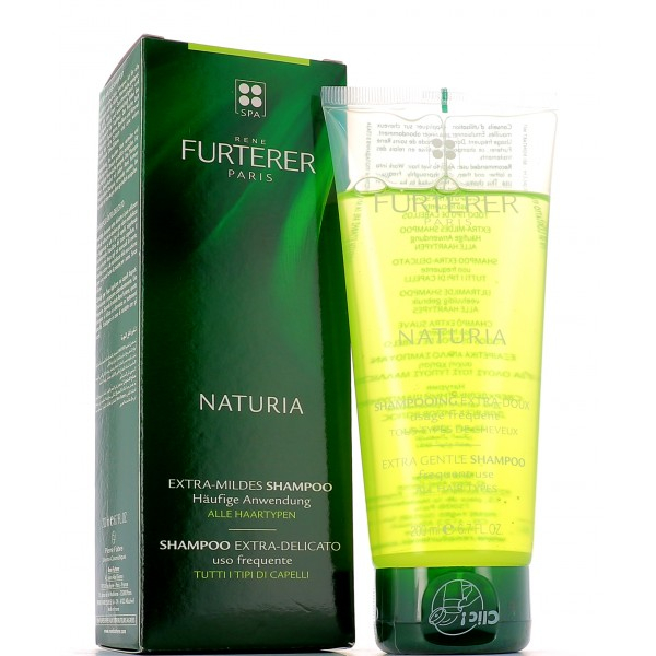 Rene Furterer Naturia shampoo extra-delicato riequilibrante- adatto a tutti i tipi di capelli, per tutta la famiglia.