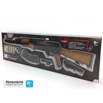 General Trade Mitra D'Assalto AK90 Fucile Per Bambino Con Accessori Munizione e Caricatore