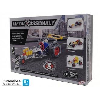 General Trade Metal Assembly Automatico Macchinina Per Bambino Da Corsa Assemblabile Giocattolo