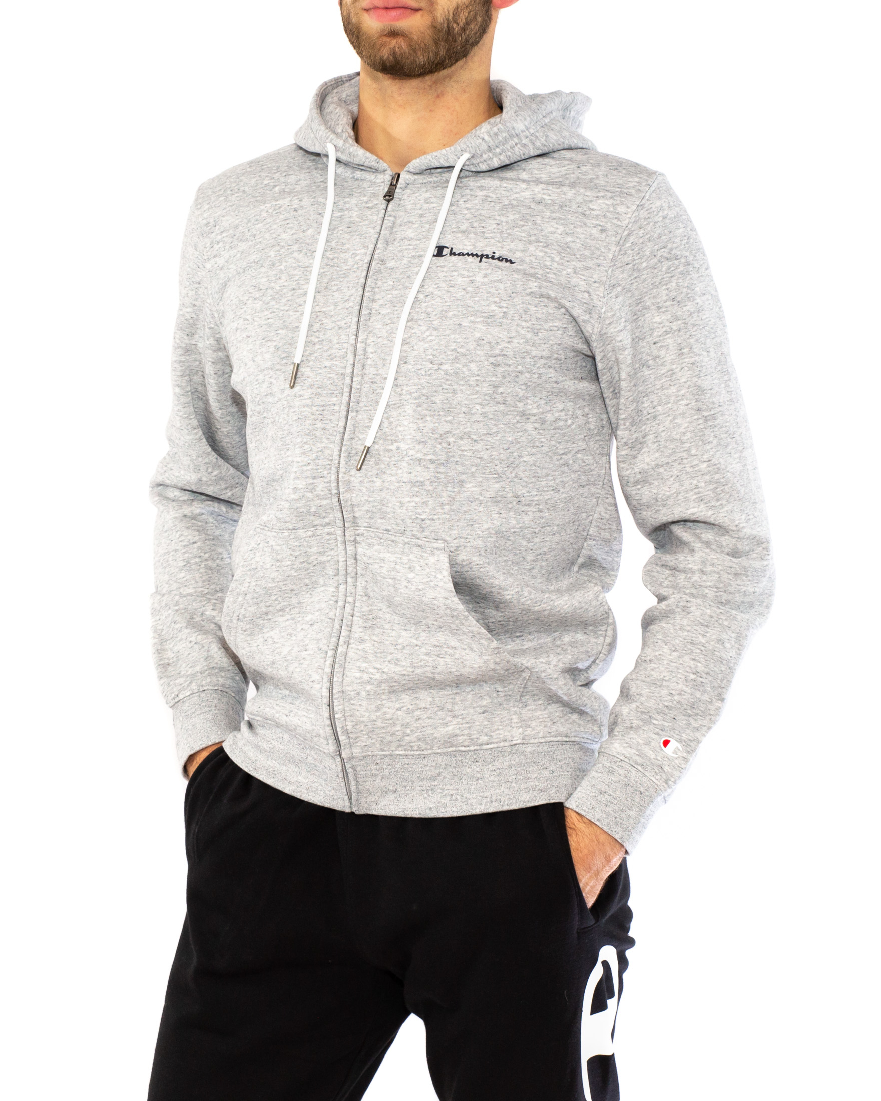 CHAMPION FELPA CON ZIP BASIC