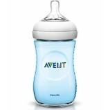 AVENT BIBERON NATURAL 260 ML PP AZZURRO