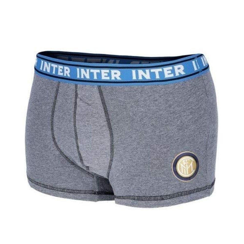 Boxer Inter taglia 14 anni grigio