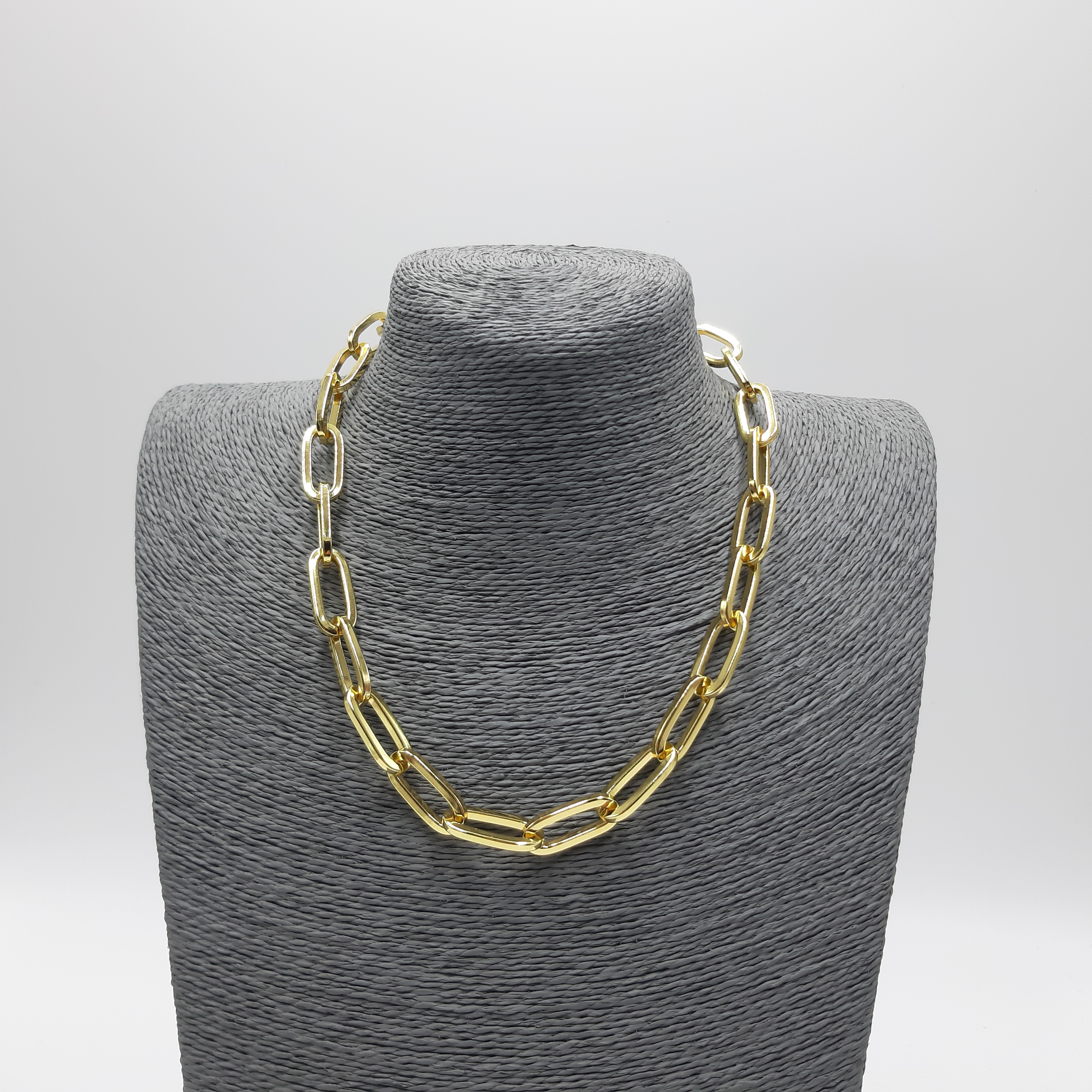 Catena girocollo anelli fini Francesca Bianchi Design