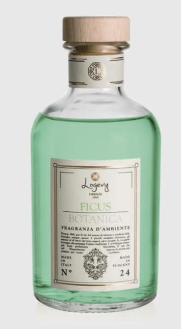 Logevy Profumatore d'ambiente bastoncini 500 ml-FICUS BOTANICA