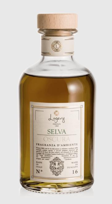 Logevy Profumatore d'ambiente bastoncini 500 ml-SELVA OSCURA