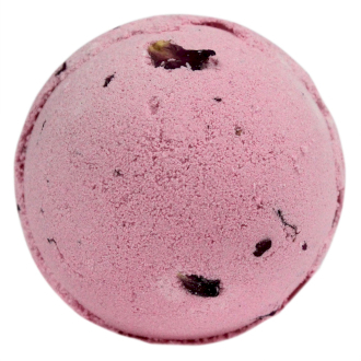 Bomba Frizzante da Bagno Rosa e Petali 200gr