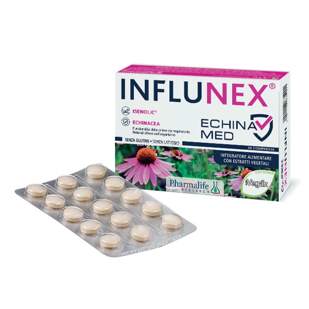 INFLUNEX ECHINA MED 30 CPR PHARMALIFE