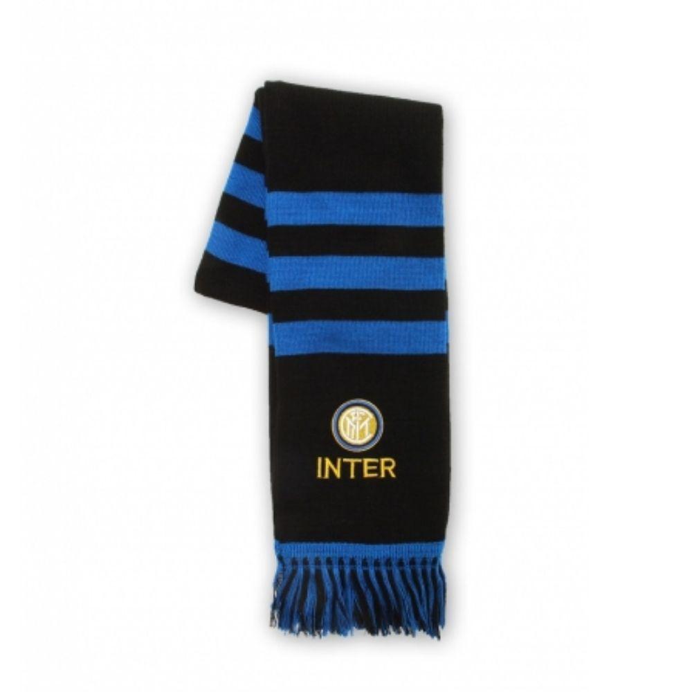 Sciarpa tubolare Inter nero azzurro