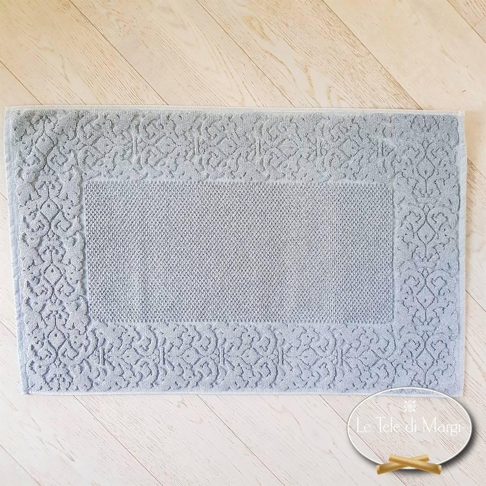 Tappeto barocco grigio