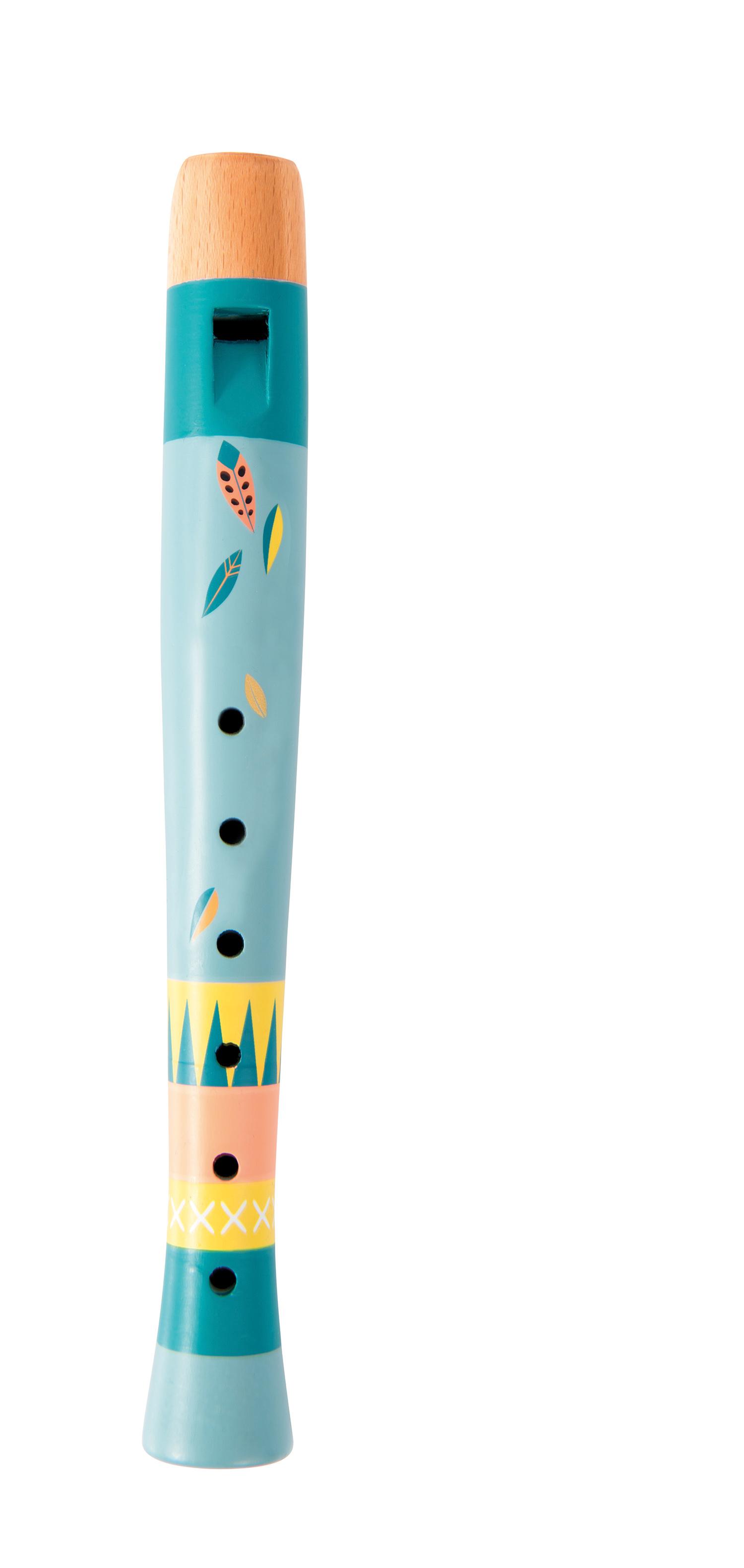 Flauto in legno per bambini assortito