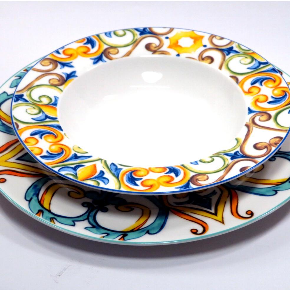 Servizio piatti 18 pezzi Medicea