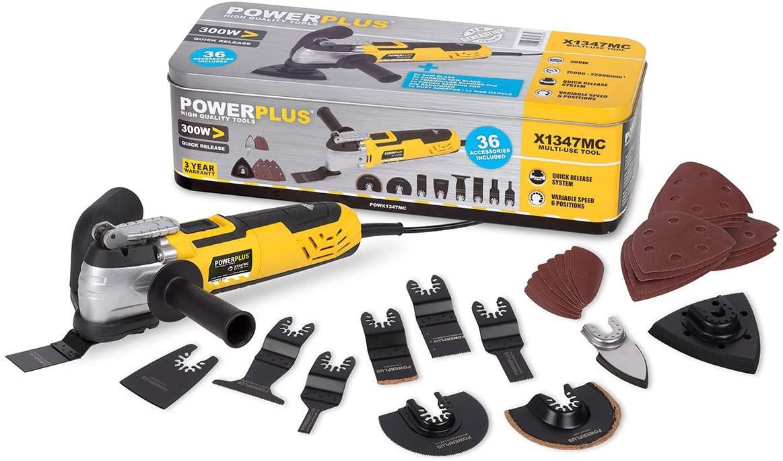 Power utensile multiuso 300w con 36 accessori art.powx1347mc