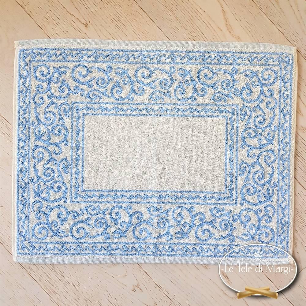 Scendidoccia barocco doubleface azzurro