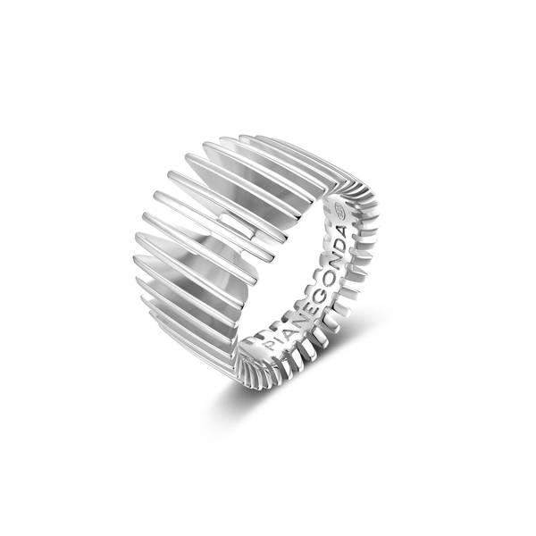 Anello PIANEGONDA collezione DORIFORA in argento 925/°°