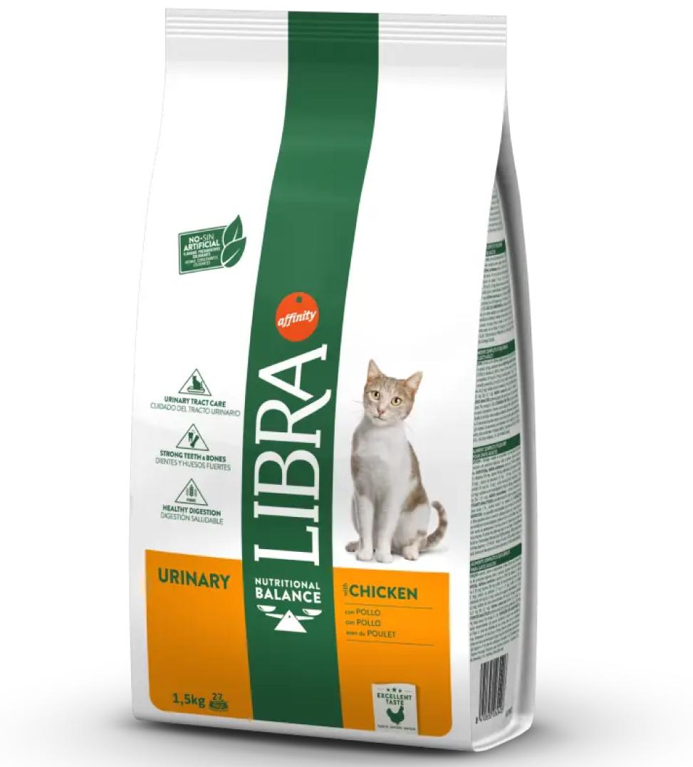 Libra Cat - Urinary - Pollo - 10 kg x 2 sacchi