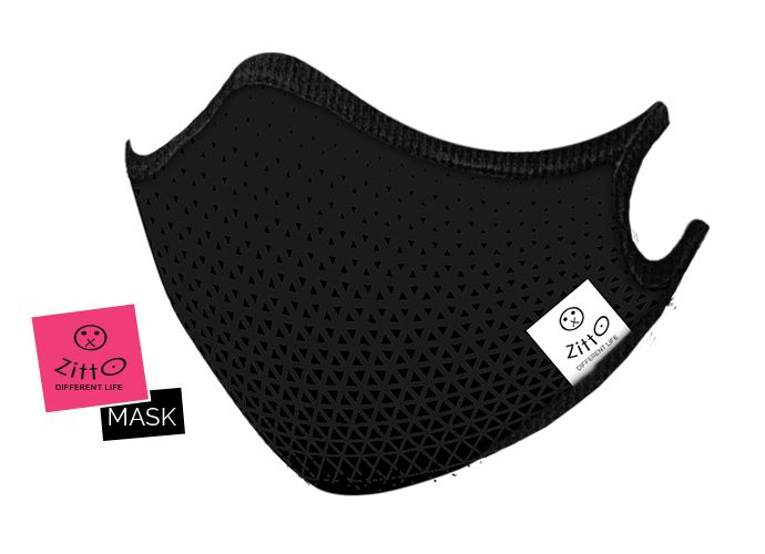 Zitto Mask adulti Sporty black