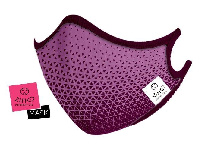 Zitto Mask adulti Sporty lilac