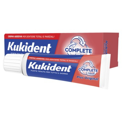 Kukident Complete Plus Original crema adesiva per protesi dentali 47 g