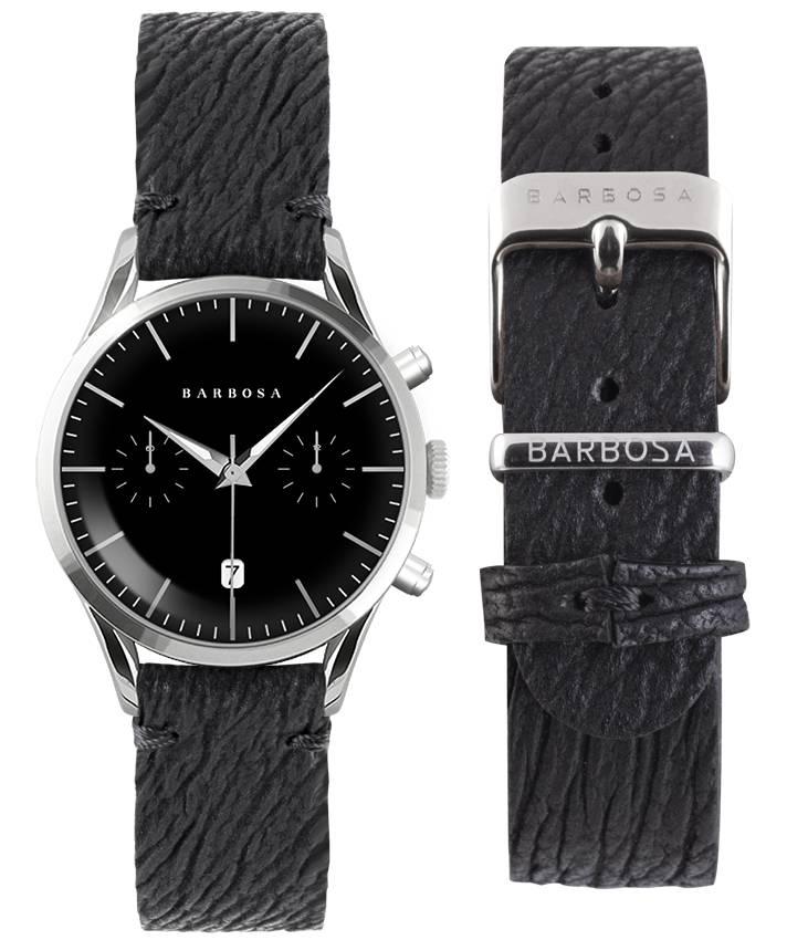 Orologio Barbosa cronografo con cinturino in pelle
