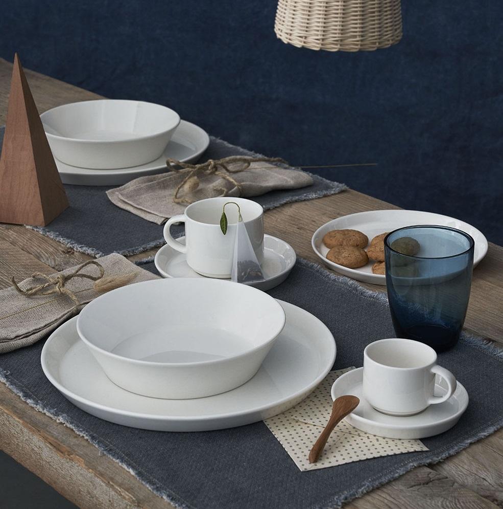 Servizio tavolo 18 pz Andrea Fontebasso by Tognana linea Polar