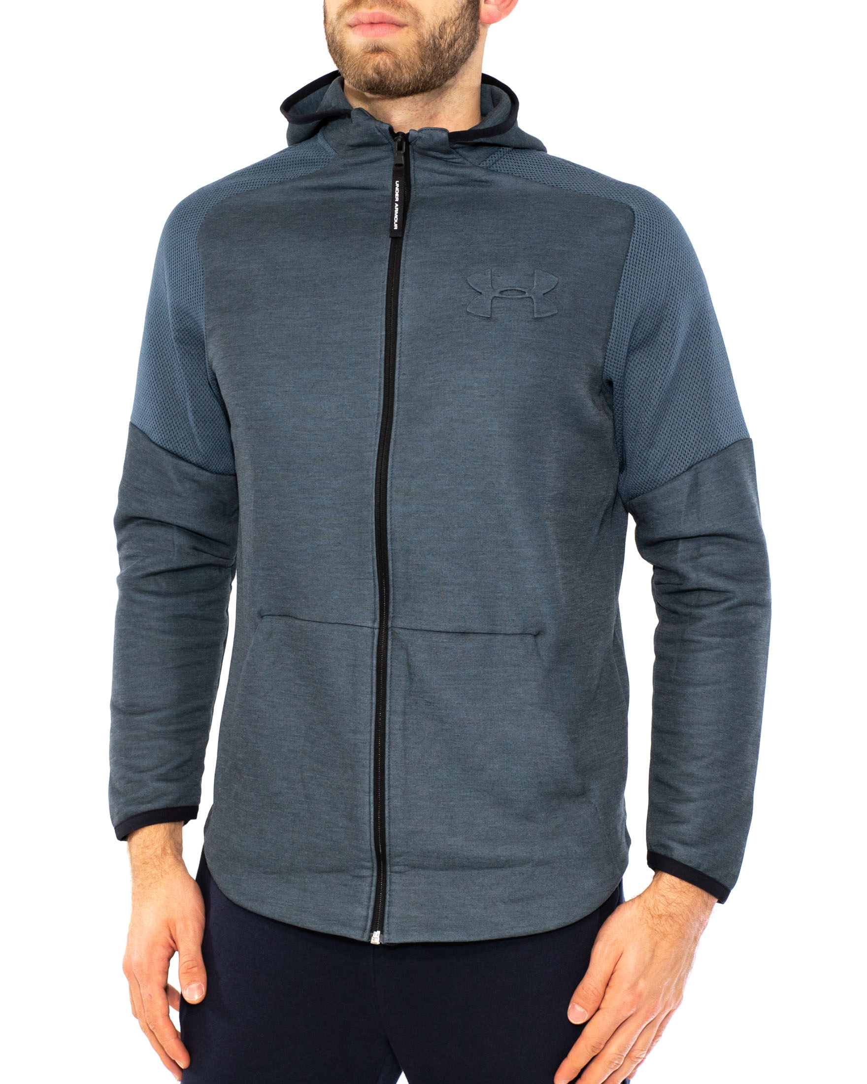 UNDER ARMOUR FELPA TECNICA CON ZIP