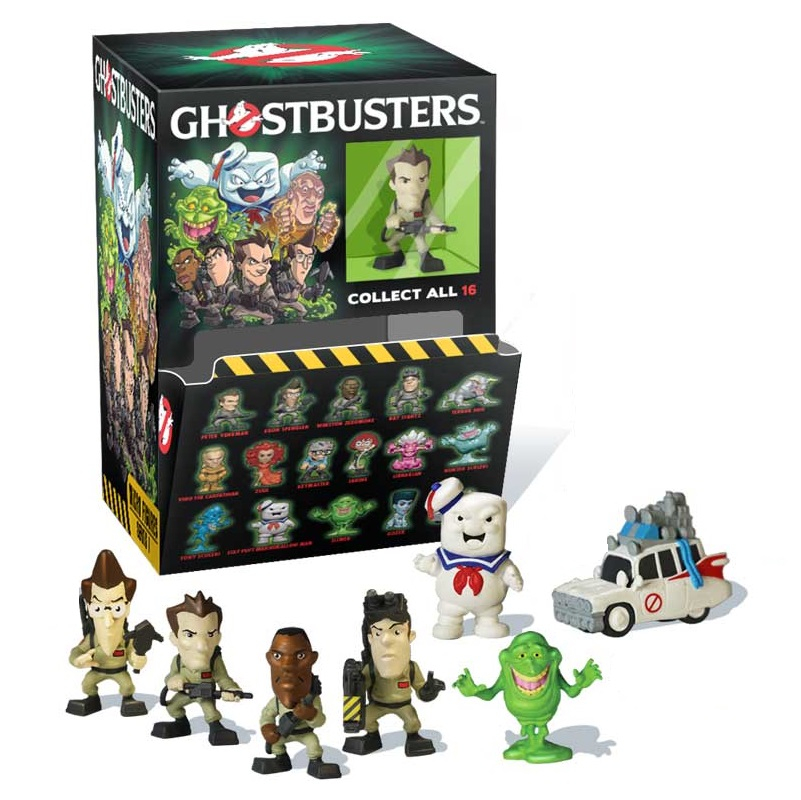 Ghostbusters Micro Figures (set 7 personaggi) by Cryptozoic