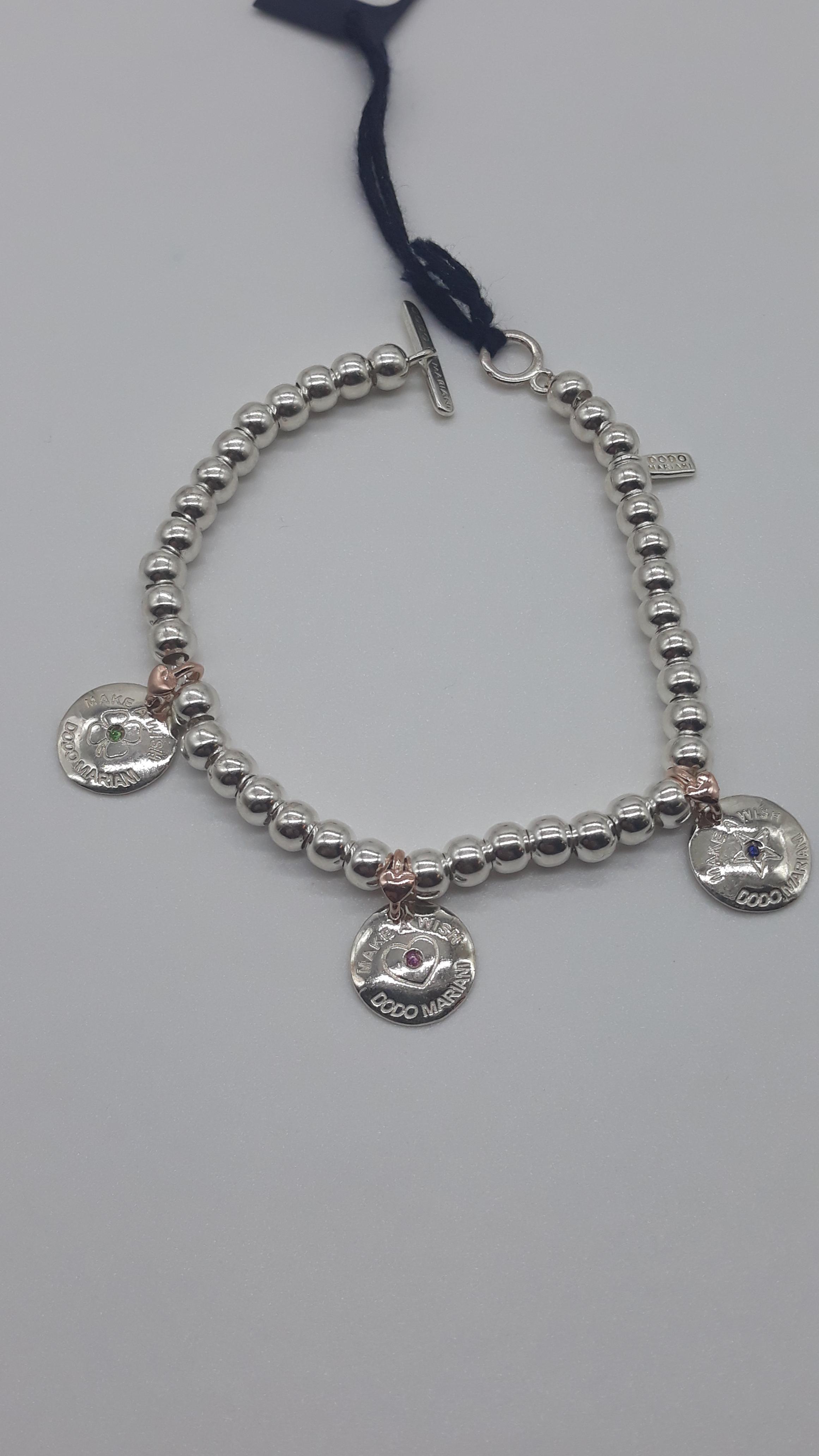 Bracciale DoDo Mariani con sigilli, vendita online | GIOIELLERIA BRUNI Imperia
