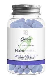 Bionike Nutraceutical Well-Age 50+ Acido Ialuronico Collagene marino