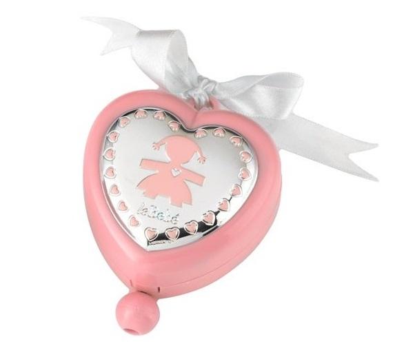 LeBebé Carillon - Cuore Rosa