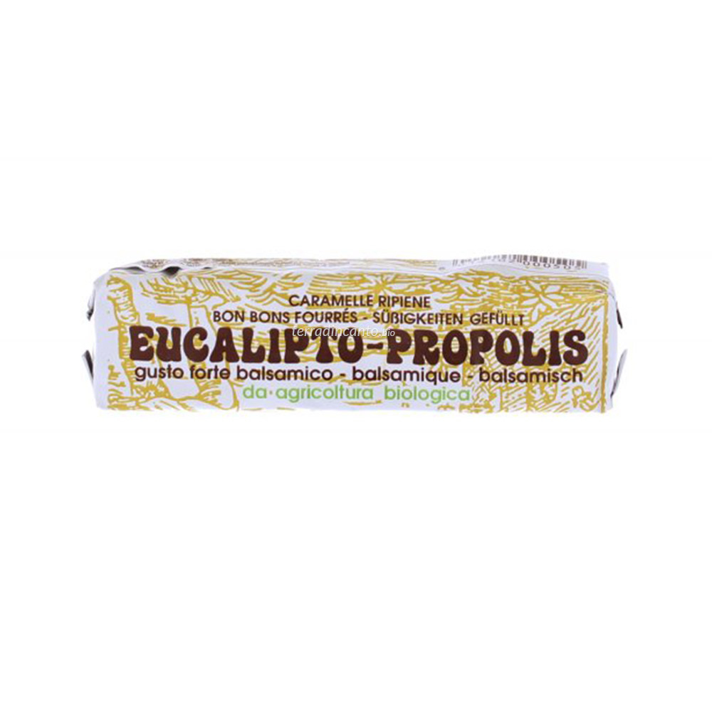 Caramelle ripiene balsamiche eucalipto-propolis Inland