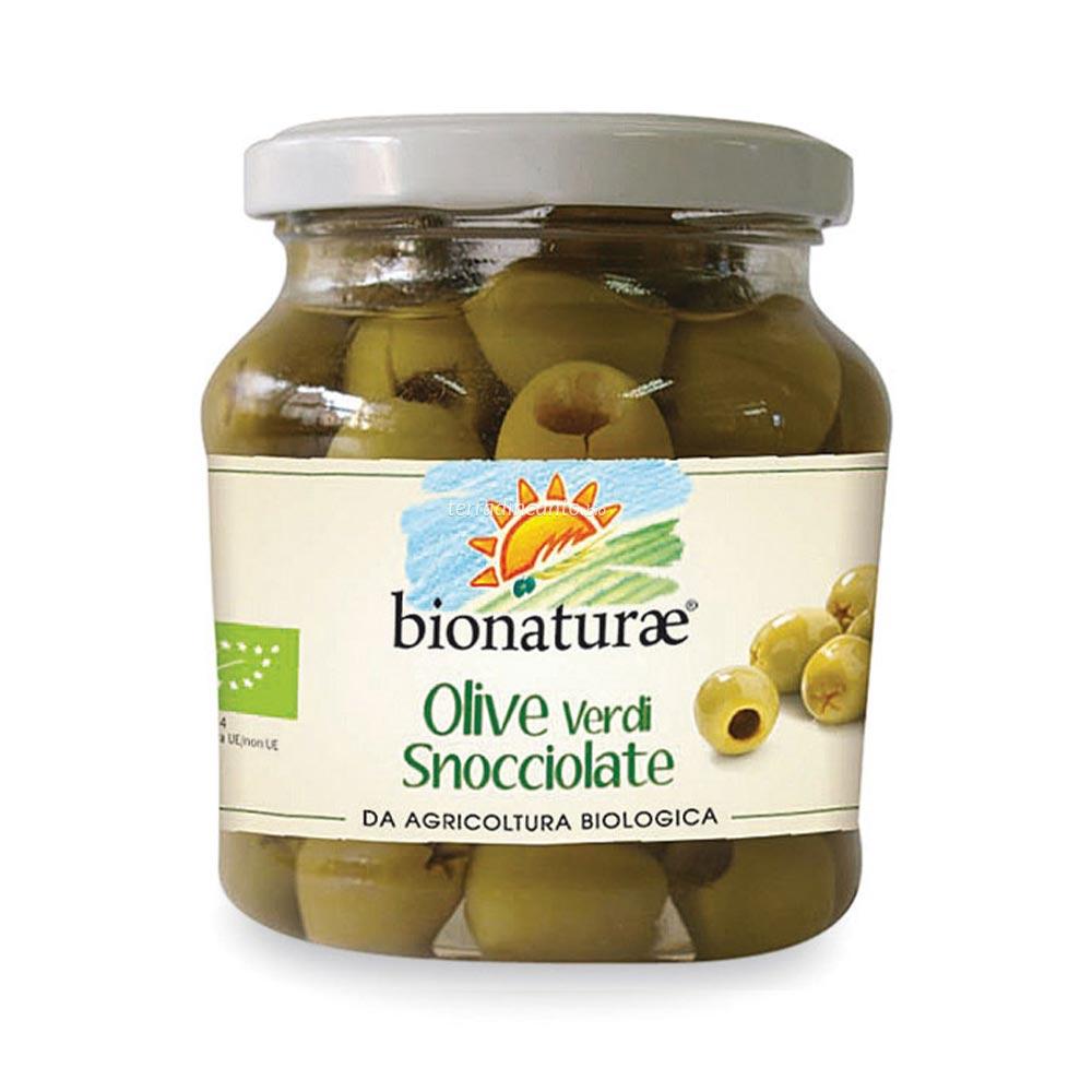 Olive verdi snocciolate Bionaturae