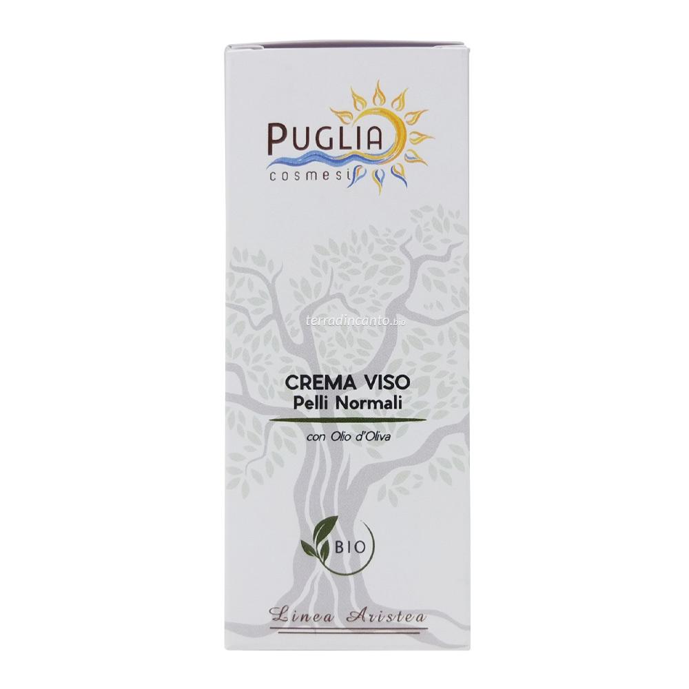 Crema Viso Pelle Normale e Mista 50 ml Puglia Cosmesi