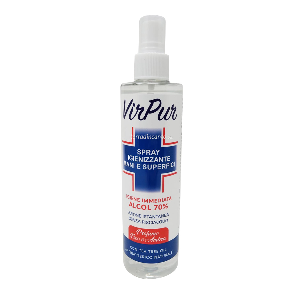 VIRPUR SPRAY IGIENIZZANTE MANI E SUPERFICI 250 ML PHARMALIFE