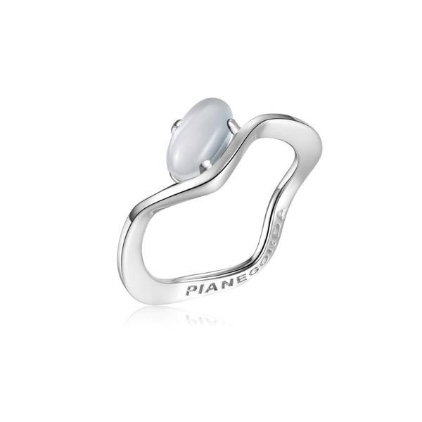 Anello PIANEGONDA collezione ANGUIS in argento 925/°° MIS 14